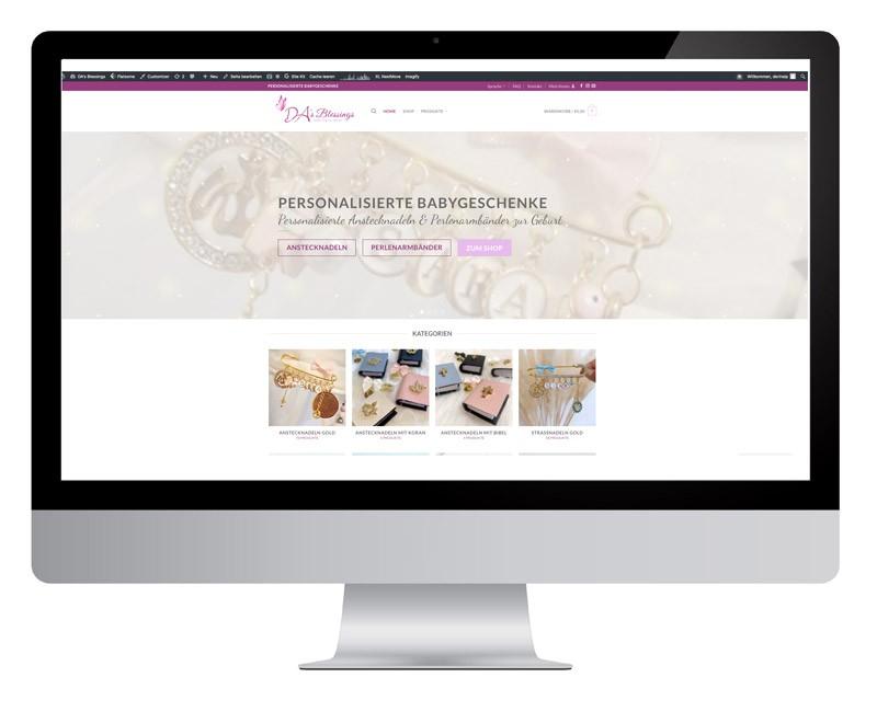 Webseite-display-DA-Blessings-screenshot